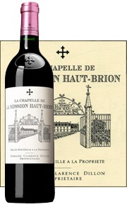 Le vin Chapelle de Mission Haut Brion 2015