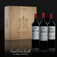 Château Léoville Las Cases Collection 00 en magnum